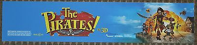 The Pirates: Band of Misfits, Large (5X25) Movie Theater Mylar Banner/Poster