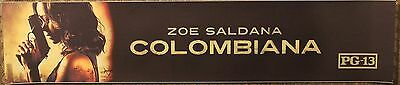 Colombiana, Large (5X25) Movie Theater Mylar Banner