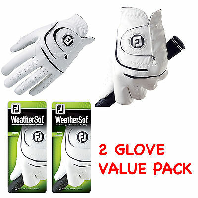 Footjoy Golf Gloves Weathersof 2 Pack Mens Golf Glove 2014