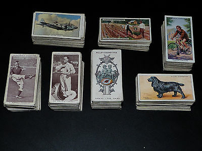 Mixed Lot of more than 500 Cigarette Cards