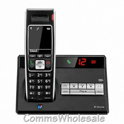BT Diverse 7450 Plus DECT Cordless Phone with Answer Machine (TAM)