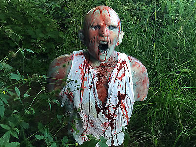 Zombie 3D Archery Target NEW!! Splattered in Blood!! Superb to Shoot!!