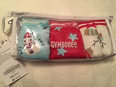 NWT Gymboree Girl Panties Underwear 2T-3T - 3 pack - GY Winter