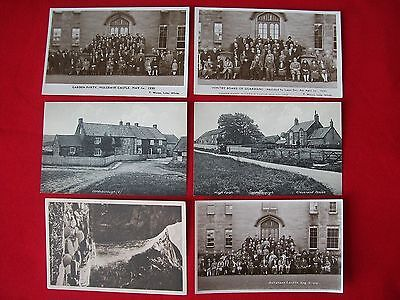 LOT OF 6x REAL & PRINTED POSTCARDS. TOM WATSON. WHITBY. YORKSHIRE.