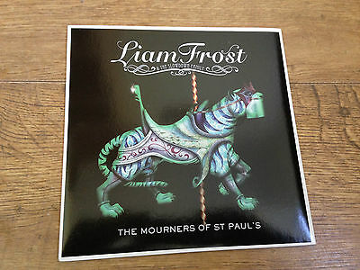 """Liam Frost the mourners of st paul's UK 7"""" vinyl single"""