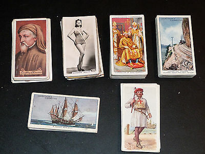 Mixed Lot of more than 800 Cigarette Cards