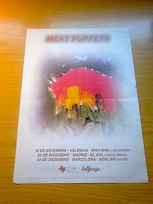 MEAT PUPPETS Poster Tour 2012 SPAIN dates