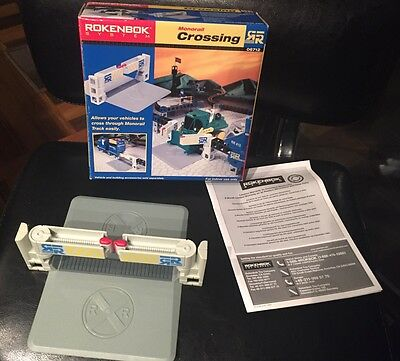 Rockenbok Monorail Railroad Crossing Track 06712 With Box & Instructions
