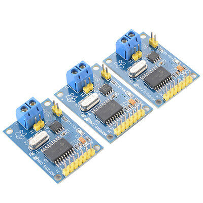 3x MCP2515 CAN Bus Module TJA1050 Receiver with SPI Interface for Arduino TE534