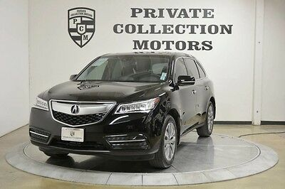 2014 Acura MDX  2014 Acura MDX Technology Package 3rd Row Seat Blind Spot Highly Optioned