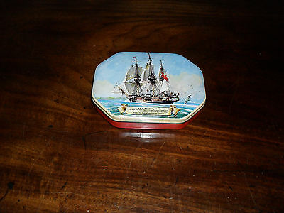 Vintage Sweet Tin- Hms Bounty 1789 Picture On Lid By Daintee Blackpool