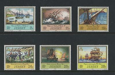 Jersey Mint Stamps 1983 Adventurers