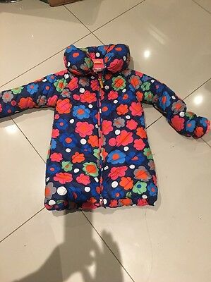 Girls Designer Coat By Mim-pi Excellent Condition