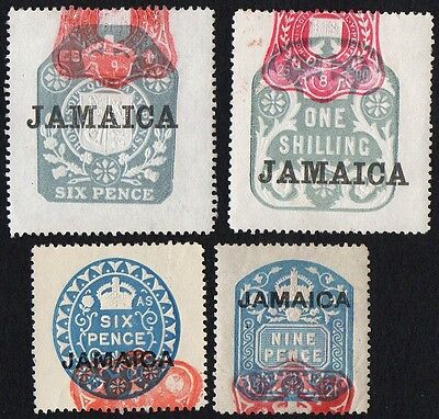 Jamaica stamps. Early postage. MNH