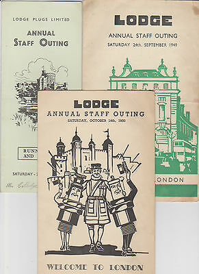 Lodge Plugs Annual Staff Outing Itenary/programmes