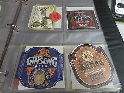8 Beer Labels- See Photos and Listing of Names Below