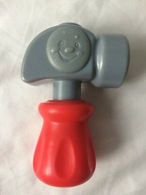 Fisher Price Laugh and Learn Replacement Red Hammer for Tool Bench