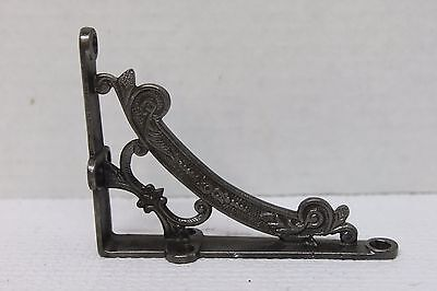 "Victorian Cast Iron Wall Shelf Bracket - 4"" - Decorative"