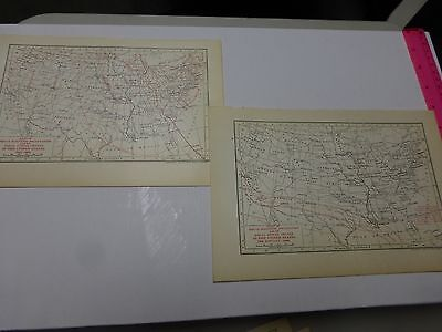 1900 Maps showing Magnetic Declination & Inclination w/Annual Change