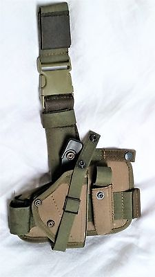 Russian Army PM Leg Hip Holster KO-11 by SSO SPOSN Olive
