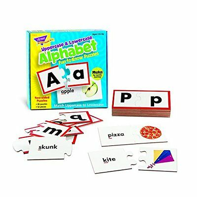 Fun-to-Know? Puzzles: Uppercase & Lowercase Alphabet