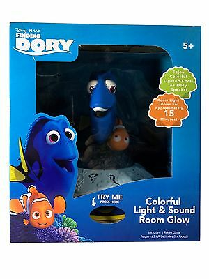 Disney Pixar Finding Dory, Speaking Dory-Colorful Coral Light & Sound Room Glow