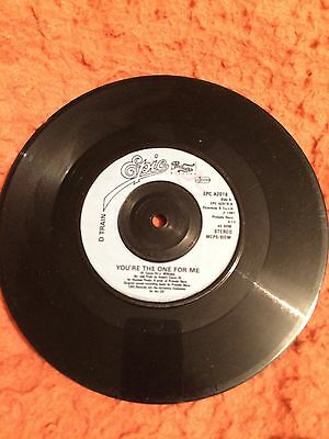"d train your the one for me 7""vinyl"