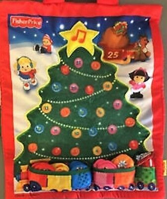 Retired Little People Christmas Countdown Advent Calendar by Softplay