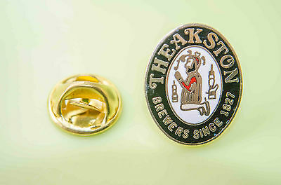 Theakstons Brewery Metal Pin Badge