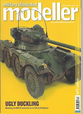 Military Illustrated Modeller December 2012 AFV Edition Jeeps Panzers