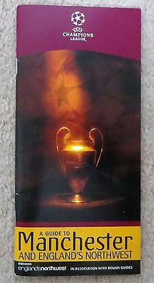CHAMPIONS LEAGUE FINAL guide JUVENTUS  AC MILAN 2003 OLD TRAFFORD MANCHESTER UTD