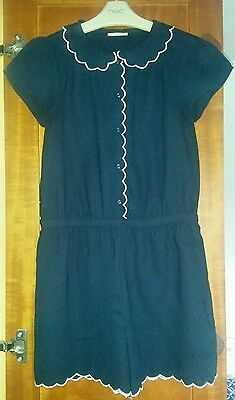 Lovely navy blue Next playsuit. Age 10 yrs. Excellent condition!