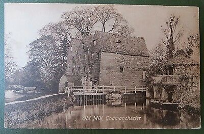 Vintage Postcard, Old Mill Godmanchester, Huntingdon Cambs, Real Photo RPPC