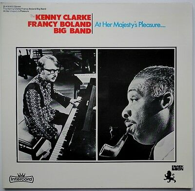 Lp De**the Kenny Clarke Francy Boland Big Band - At Her Majesty's Pleasure*24860