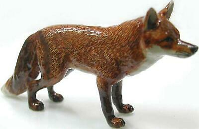 Northern Rose Miniature Porcelain Animal Figure Red Fox Standing R030