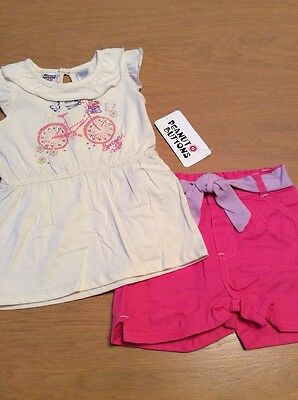 BNWT Girls 2 Piece Set By Peanut Buttons (2 Yrs) ***FREE UK P&P***