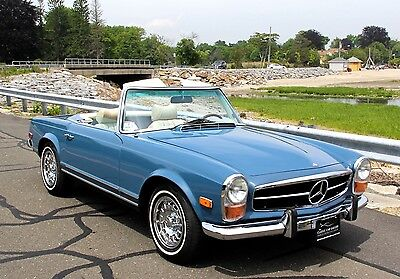 "1970 Mercedes-Benz SL-Class  1970 MERCEDES 280SL ""RESTORED AND STUNNING, MANUAL TRANSMISSION, STUNNING!!!"""