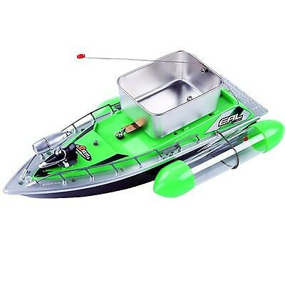 Webetop Remote Control RC Fishing Bait Boat with Recharger Green