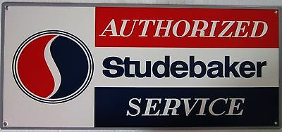 Authorized Studebaker Service Metal Sign