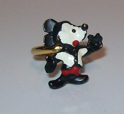 Vintage Mickey Mouse Walt Disney Productions Ring