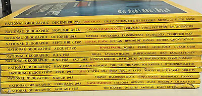 National Geographic in INGLESE - annate complete 1983-84-85-86 +1987 10 numeri