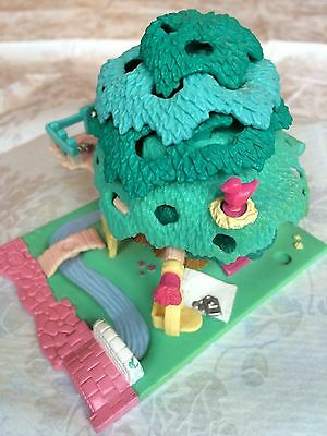 Vintage Bluebird Polly Pocket 1994 – Treehouse Complete 2 Characters