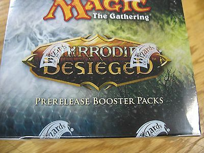 MTG Mirrodin Faction Besieged Prerelease Sealed Booster Box Wizards of the coast