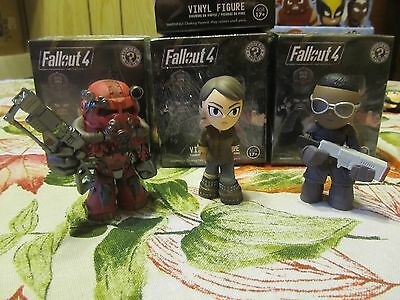 Funko Mystery Minis Gamestop Exclusives Fallout 4 Complete Set of 3