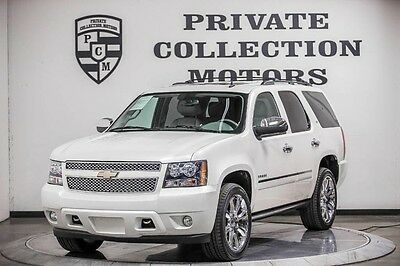 2014 Chevrolet Tahoe LTZ Sport Utility 4-Door 2014 Chevrolet Tahoe LTZ Rear Entertainment Low Miles 1 Owner Clean Carfax
