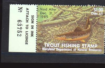 Trout Fishing Stamp
