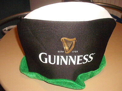 Guinness Pint Glass And St Patricks Day Leprechaun Hat