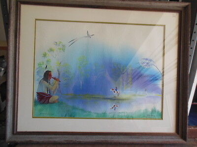 Jackie ToinTigh Original Watercolor Signed
