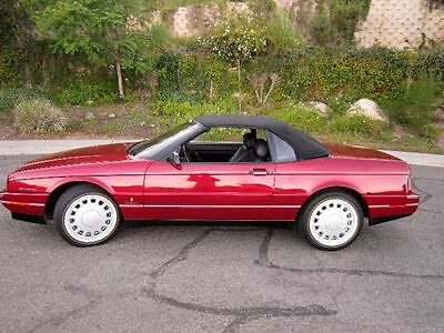 1993 Cadillac Allante  NO RESERVE - Perfect Carfax - Celebrity Owned - 48,000 miles - Everything Works