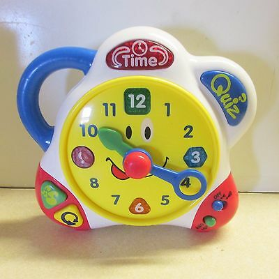 Learning Clock by Happy Kid Toys